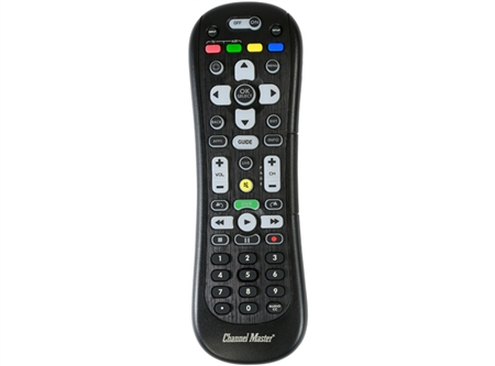 Channel Master DVR+ enhanced remote for use with the channel master dvr+ 16gb or the channel master DVR+ 1 TB DVR+ in Canada